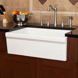 30 white farmhouse sink 30 quot damali italian fireclay farmhouse sink white kitchen