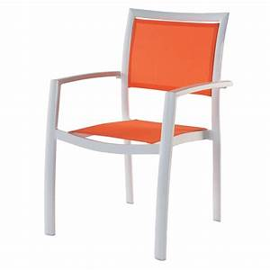 Fauteuil Jardin Aluminium : fauteuil de jardin en aluminium blanc hawai maisons du monde ~ Teatrodelosmanantiales.com Idées de Décoration