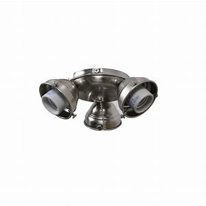 Replace ceiling light with fan : Air cool glendale in brushed nickel ceiling fan