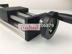 Ggp 200mm Effective Stroke Travel Length 12mm Linear Guide