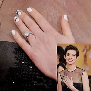 Anne Hathaway, nails, SAG Awards. Love her overall look ...