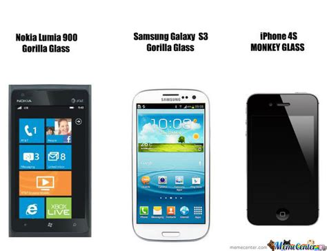 Galaxy Phone Meme - lumia vs galaxy s3 vs iphone 4s by moreno26 meme center