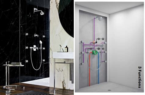 how does a shower diverter work the walls how does a shower work abode
