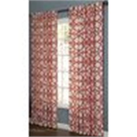 allen roth oberlin curtains shop allen roth oberlin 63 in paprika cotton back tab