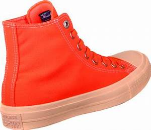 Converse All Star II Hi chaussures néon orange rouge