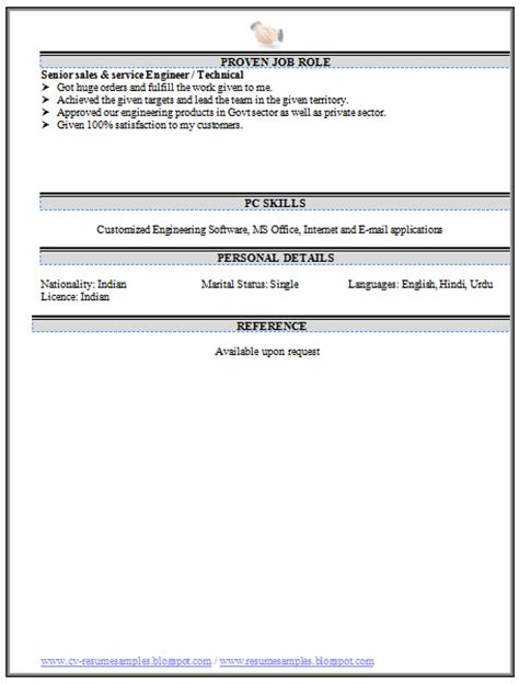 Attractive Resume Sles by 10000 Cv And Resume Sles With Free
