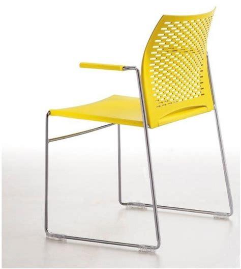 chaise de réunion chaises de réunion avec accoudoirs par lot de 6 empilables