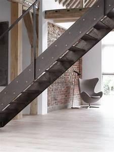 Escalier Métallique Industriel : les beaux designs d 39 escalier m tallique ~ Melissatoandfro.com Idées de Décoration