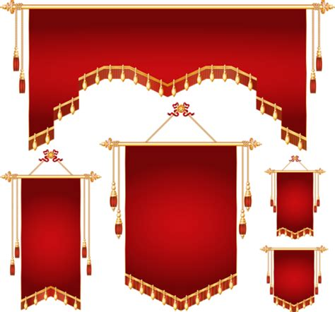 royal banner  shapes vector png banner shapes