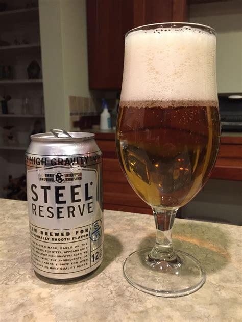 Steel Reserve 211  Beer Of The Day  Beer Infinity