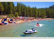 Independence Day Beach Party at Zephyr Cove Resort Tahoe