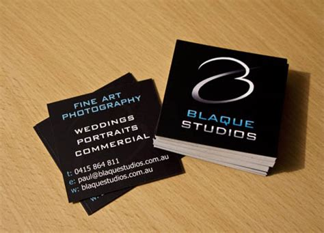cool square business cards bashooka