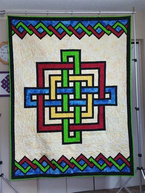 gordian knot 5 quilt for my grandson my quilts quilt patterns barn quilts