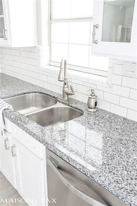 best 25 gray granite countertops ideas on