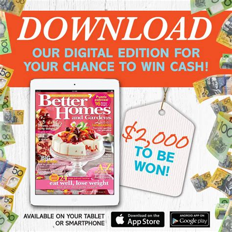 channel 7 better homes and gardens win 2 000