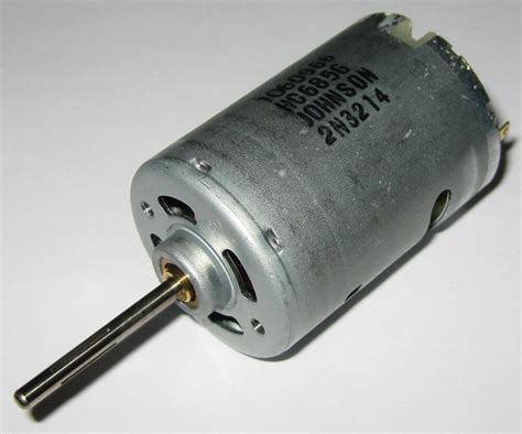 Dc Motors by Johnson Electric High Speed 6v Dc Motor W 3 17mm