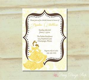41 best images about beauty and the beast shower theme on With beauty and the beast wedding shower invitations