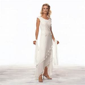 elegant long formal evening asymmetry prom bridal gown With summer wedding mother of the bride dresses