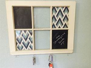 repurposing old windows in your home to add more substance With custom letter board