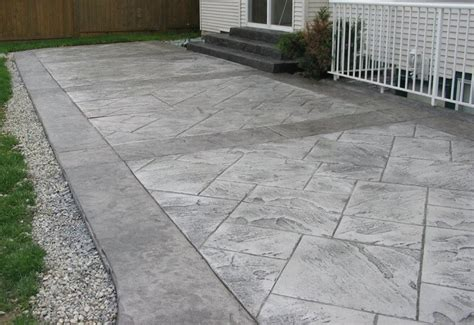 concrete patio cost sted concrete patio