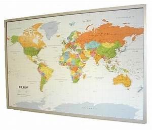 Pinnwand Weltkarte Kork : weltkarte auf kork pinnwand deutsch 90x60cm 12 pinn 199067 9783981078640 ebay ~ Markanthonyermac.com Haus und Dekorationen