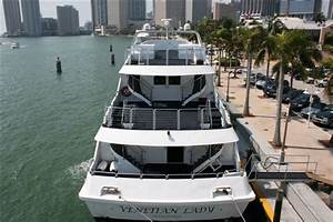 130ft Venetian Lady Luxury Party Yacht For Charter In