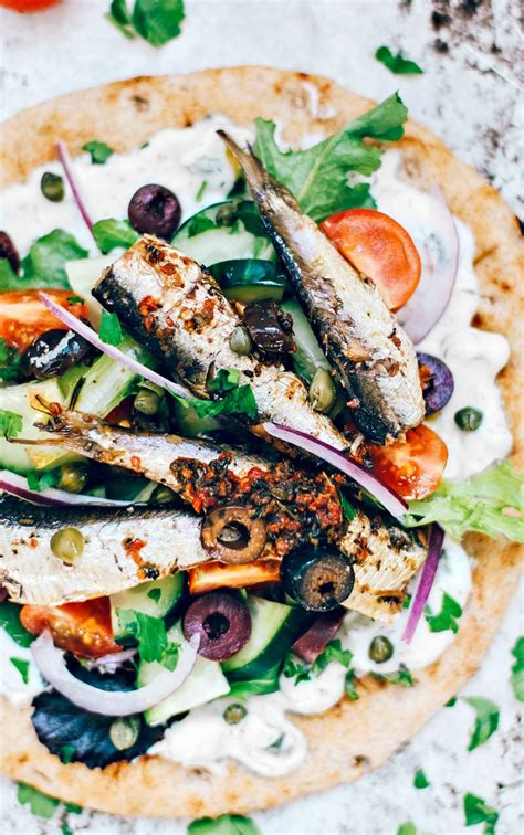 Greek Pita With Sardines {Fish High in Omega-3}   Killing ...
