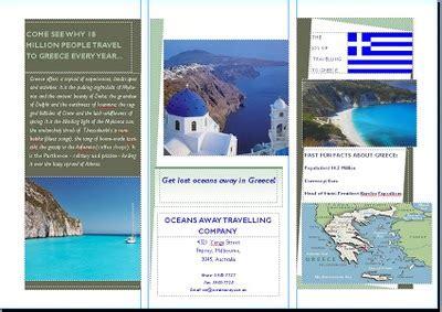 brochure samples pics brochure  greece