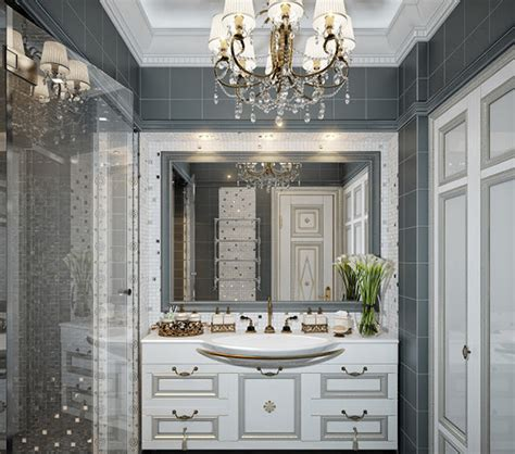 traditional bathroom vanities  luxurious classic