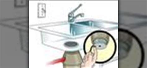 how to fix sink disposal how to unjam a garbage disposal home appliances