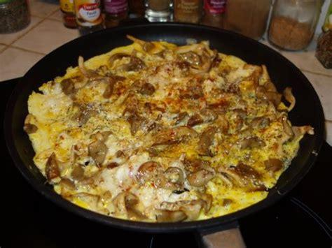 cuisiner les chayottes omelettes aux pleurotes et aux deux graines recette de