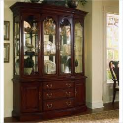 Cabinet China by American Drew Cherry Grove Canted China Cabinet