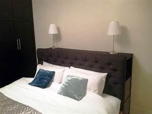Tete De Lit Rangement : t te de lit avec rangement ~ Teatrodelosmanantiales.com Idées de Décoration