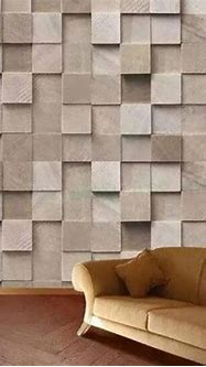 3D Stone Finish Printed Wallpaper, Thickness: 2-10 Mm, Rs ...