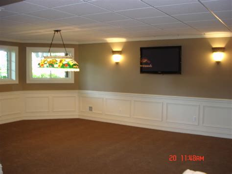 Drop Ceilings In Basements Pictures by Finished Basement