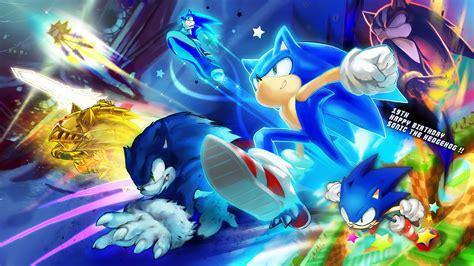 Happy Birthday Sonic Sonic Forever Fan Art 15220080