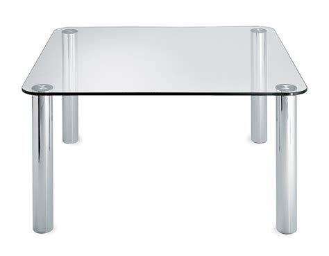glas tables marcuso glass table hivemodern com