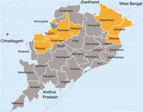 odisha map patra tours  travels