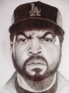 Ice Cube drawing | Explore MarioLight's photos on Flickr ...