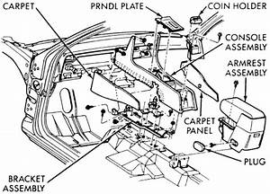Service Manual  How To Remove Center Console 2001 Chrysler