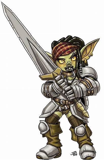 Goblin Female Fighter Deviantart Character Fantasy Prodigyduck