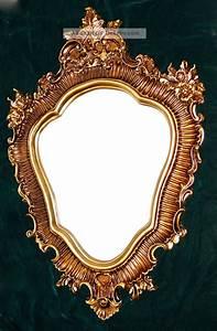 Spiegel Antik Oval : gro er wandspiegel barock oval 103x73cm badspiegel antik spiegel gold ~ Markanthonyermac.com Haus und Dekorationen