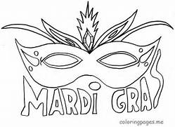 pages mardi gras coloring