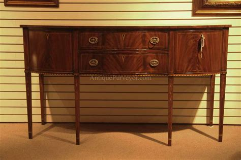 Sideboards Buffets by Formal Hepplewhite Style Mahogany Sideboard For The Dining