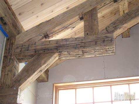 hand hewn beams altruwood
