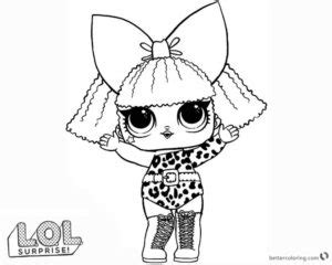 Amazing Lol Pets Coloring Pages Free Printable Coloring Pages