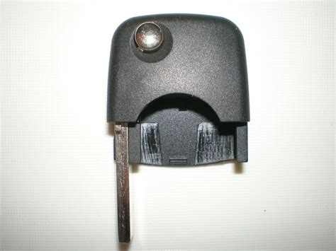 New Replacement Flip Key Remote Head & Uncut Key / Round