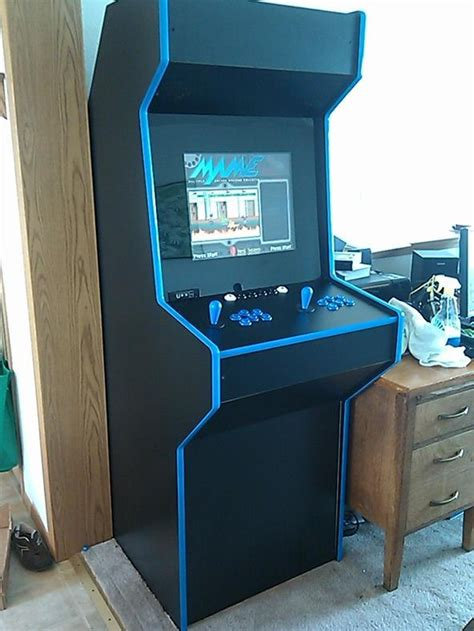 Diy Mame Cabinet Plans by Mame Arcade Cabinet 171 Wonderhowto Company