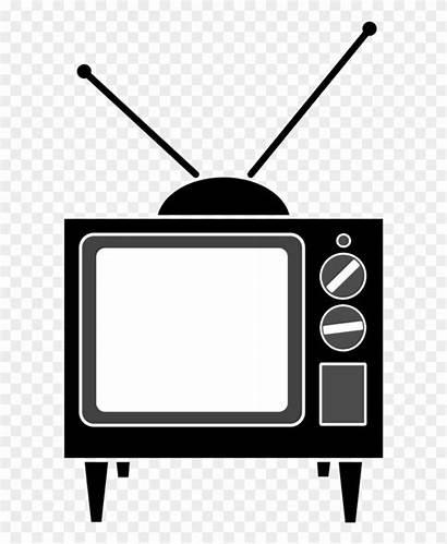 Tv Television Antenna Clipart Vector Illustration Tradition