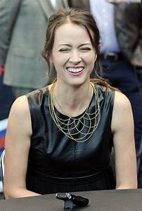 Amy Acker At CBS 'Person of Interest' Press Line At New ...